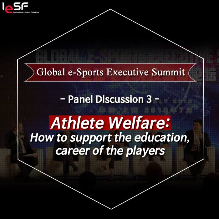 Global Esports Summit 2016-Athlete Welfare